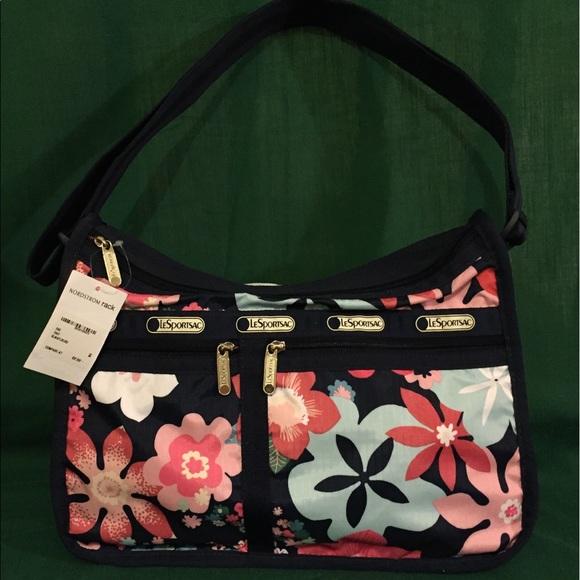 3700d4c2c9 Lesportsac Bags | Nwt Deluxe Everyday Bag Joyful Floral S | Poshmark